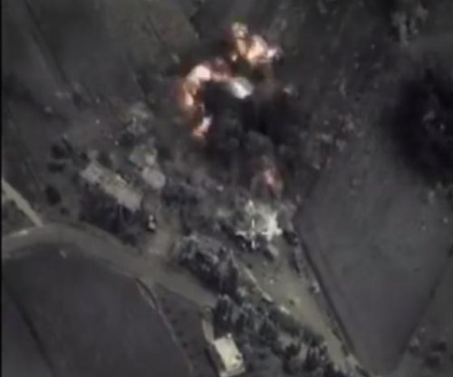 Russia carries out first airstrike in Syria, not in Islamic State territory