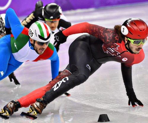 Canadian speed skater Girard wins men's 1,000m short track, USA second