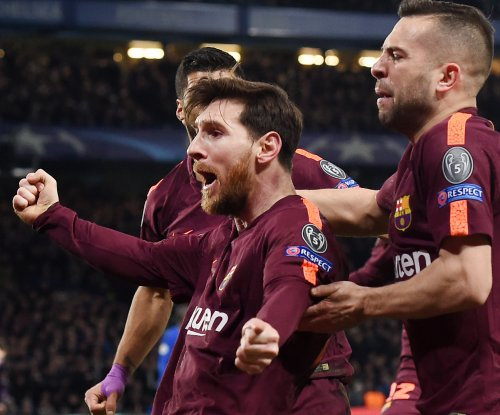 Messi scores first career goal vs. Chelsea, saves Barcelona