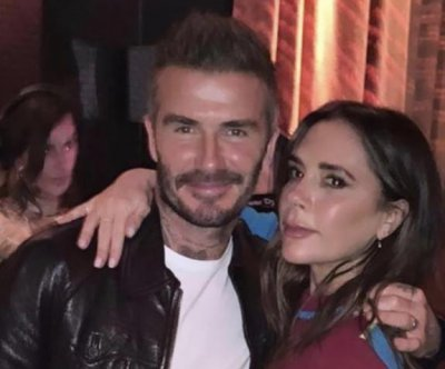 Victoria Beckham's family supports her at London Fashion Week show