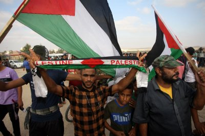 , Clash on Gaza border leaves 41 Palestinians and Israeli solider injured, Forex-News, Forex-News