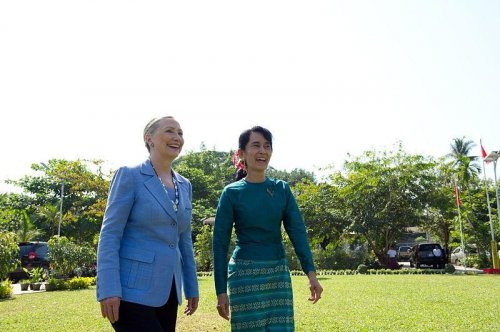 U.S. easing restrictions on Myanmar