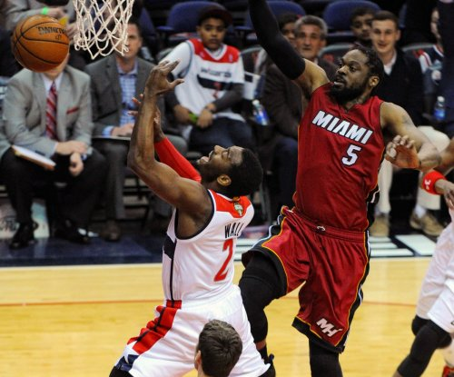 Washington Wizards nearly blow huge lead, hold off Miami Heat