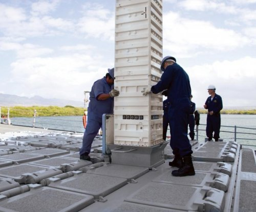Navy modifies contract for missile launch canisters