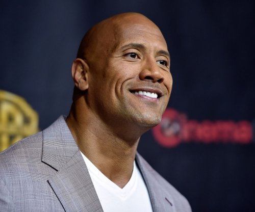 Dwayne Johnson saves puppies from drowning