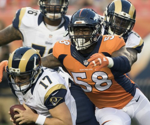 Denver Broncos' Von Miller picks up where he left off