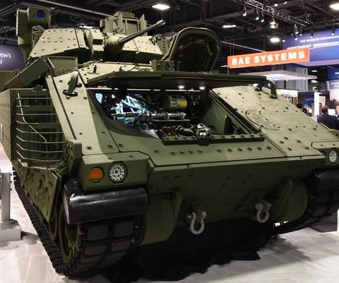 BAE Systems displays next-gen Bradley Fighting Vehicle