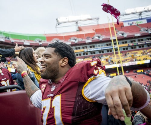 Trent Williams back from suspension to lock down left tackle