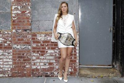 Ronda Rousey carries low profile into main event vs. Amanda Nunes