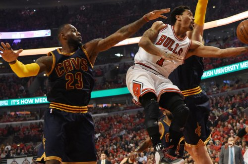 Derrick Rose meeting with Cleveland Cavaliers