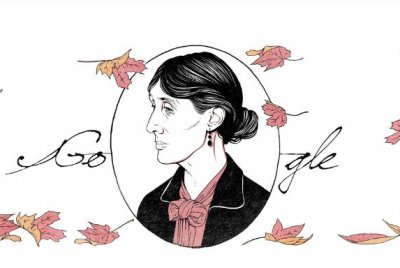 Google honors writer Virginia Woolf with new Doodle