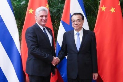 Chinese premier pledges Cuban investment to Diaz-Canel