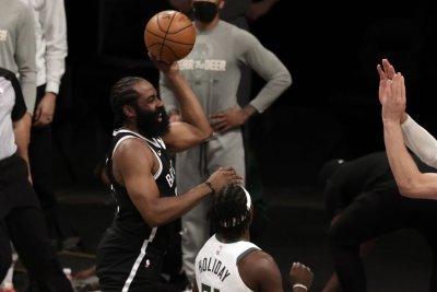 Nets stars Kyrie Irving, James Harden out for Game 5 vs. Bucks