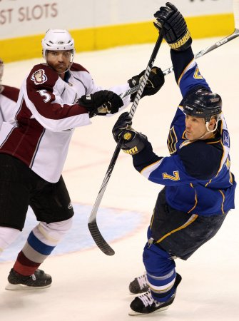 NHL: Colorado 4, St. Louis 0