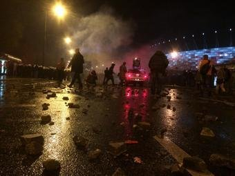 Riots mar Polish Independence Day observances