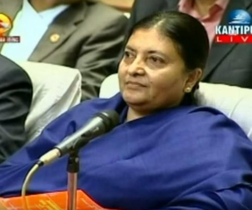 Nepal elects Bhandari as first female president