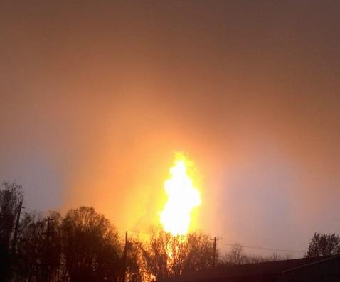 At least one person burned in Pennsylvania natural gas explosion