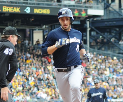 Milwaukee Brewers OF Ryan Braun not in lineup
