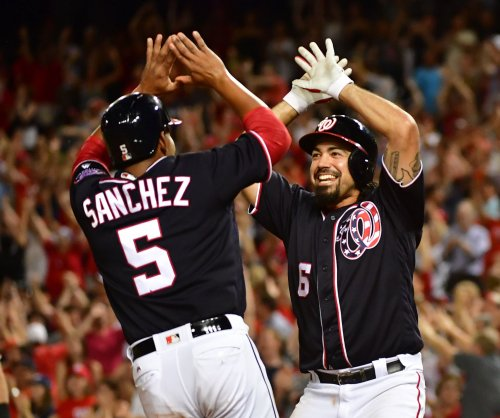 Anthony Rendon, Matt Wieters shine as Washington Nationals double up Atlanta Braves