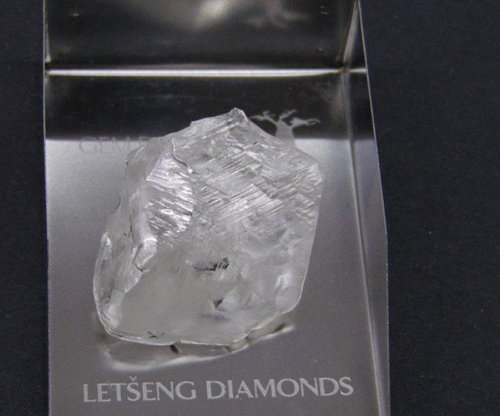 One of the largest diamonds ever found dug up in Lesotho