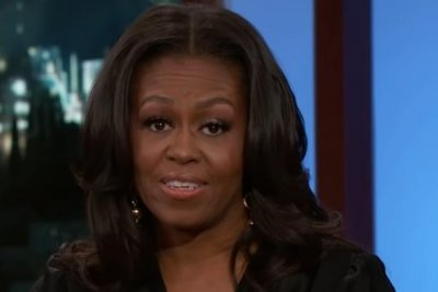 Michelle Obama says what she couldn't say as first lady on 'Jimmy Kimmel'