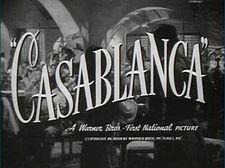 'Casablanca' returning to the big screen