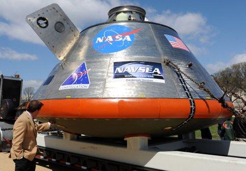 NASA's Orion spacecraft arrives in Florida