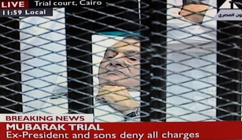 Mubarak back in court as trial resumes