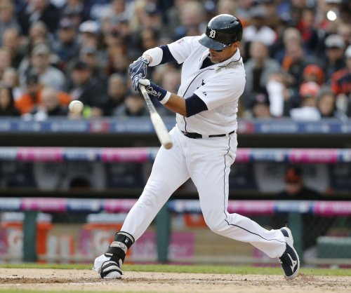 MLB: Detroit Tigers' Victor Martinez records 2,000th hit against old team