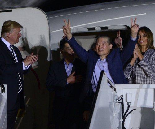 Trump welcomes home American prisoners held in North Korea