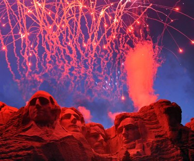 Trump brings back fireworks to Mount Rushmore; faces criticism