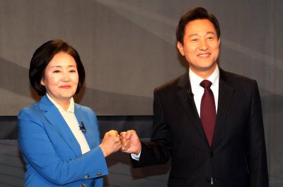 Verbal sparring intensifies in Seoul mayoral race ahead of by-election