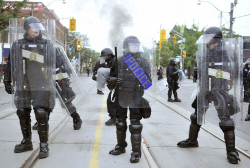 Toronto police faulted for G20 riot