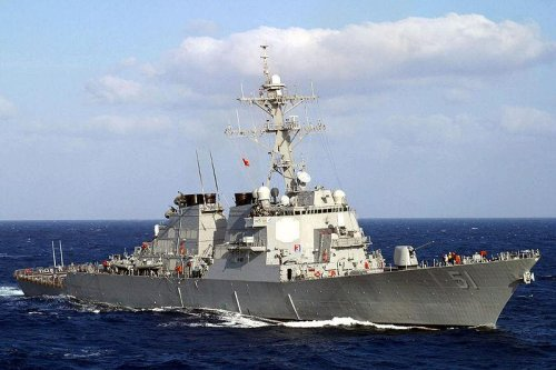Huntington Ingalls Industries cuts steel for new destroyer