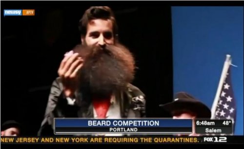 Beard and Moustache Championship held in Portland