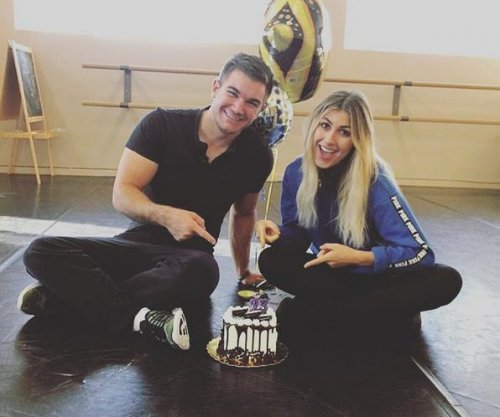 Emma Slater addresses Alek Skarlatos dating rumors