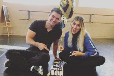 Emma Slater addresses Alek Skarlatos dating rumors