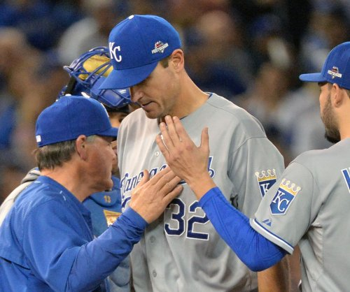 Chris Young, Royals' Game 1 winner, still set for Game 4