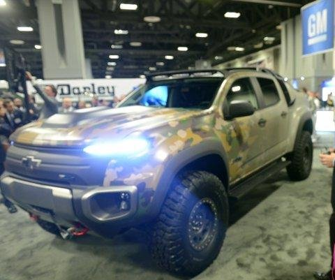 GM, U.S. Army unveil Colorado ZH2 tactical hydrogen vehicle