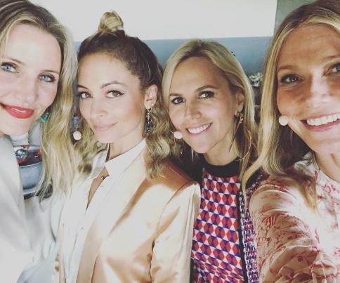 Gwyneth Paltrow bonds with Cameron Diaz, Nicole Richie, Tory Burch: 'Dream girl band'