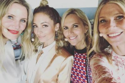 Gwyneth Paltrow bonds with Cameron Diaz, Nicole Richie, Tory Burch: 'Dream girl band'