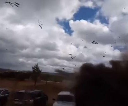 Report: Russian helicopter fired on bystanders at war games