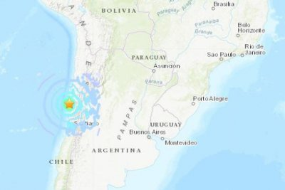Magnitude 6.7 earthquake rocks northern Chile
