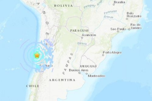 Magnitude 6.7 earthquake rocks northern Chile