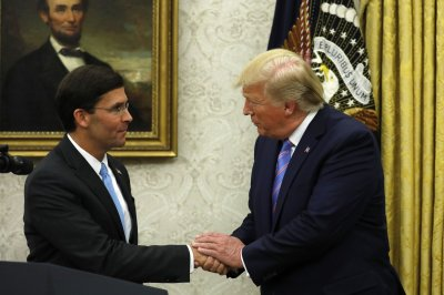 Mark Esper sworn in as defense secretary