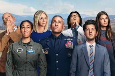 'Space Force' stars eye the skies in poster for Netflix series