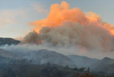 Thousands forced to evacuate in California as wildfire erupts to 20,516 acres