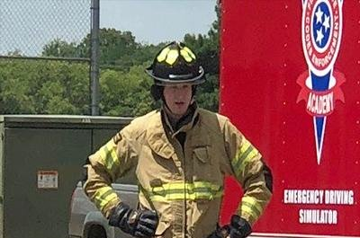 Tennessee man dubbed world's tallest firefighter