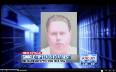 Google alerts police after seeing child porn on user's email