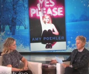 Amy Poehler reveals writing topless relaxes her